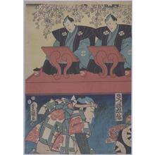 歌川国貞: 「きつね忠信」 - 立命館大学