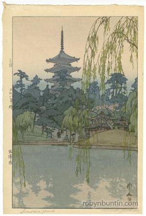 Yoshida Hiroshi: Sarusawa Pond - Robyn Buntin of Honolulu
