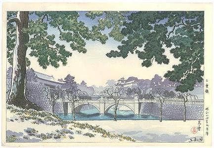 Tsuchiya Koitsu: Niju Bridge - Robyn Buntin of Honolulu