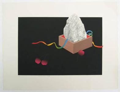 Liao Shiou-ping: Rock Garden I (ed. 31/35) - Robyn Buntin of Honolulu