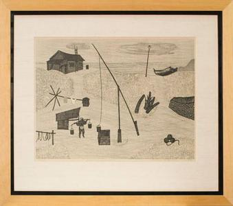 北岡文雄: Japanese Seashore (97/210) - Robyn Buntin of Honolulu
