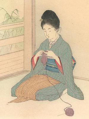 武内桂舟: Red Lotus, White Lotus - Robyn Buntin of Honolulu