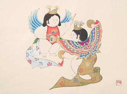 Yamaoka Chinpei: Dolls Butterfly Dance - Robyn Buntin of Honolulu