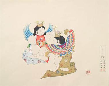 Yamaoka Chinpei: Dolls Butterfly Dance - Robyn Buntin of Honolulu