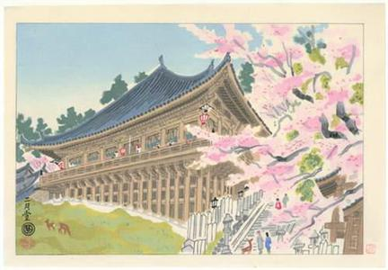 Unknown: Nara Temple - Robyn Buntin of Honolulu