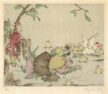 Elyse Ashe Lord: Chickens - Robyn Buntin of Honolulu