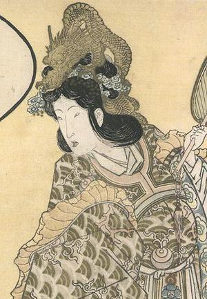 柳川重信: Osaka Shinmachi - Robyn Buntin of Honolulu