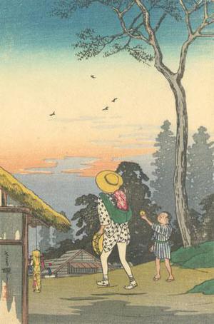 Watanabe Shotei: Evening at a Village - Robyn Buntin of Honolulu