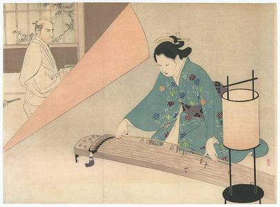 Mizuno Toshikata: Music of Spring - Robyn Buntin of Honolulu