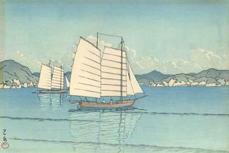 川瀬巴水: Inland Sea - Robyn Buntin of Honolulu