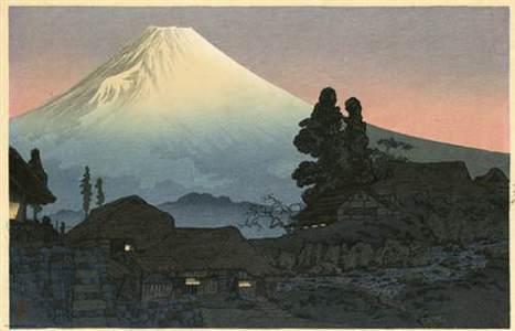 Watanabe Shotei: Mt. Fuji from Mizukubo, Evening - Robyn Buntin of Honolulu