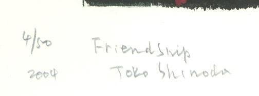Shinoda Toko: Friendship - Robyn Buntin of Honolulu