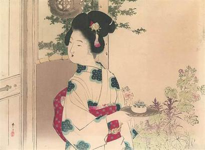 Mizuno Toshikata: Serving Tea - Robyn Buntin of Honolulu