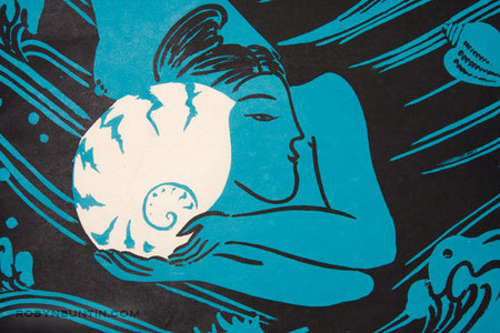 Oda Mayumi: Ancient Sea, Nautilus (27/45) - Robyn Buntin of Honolulu