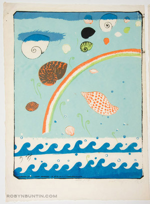 Oda Mayumi: The Day All Whales Shall Vanish Diptych (AP) - Robyn Buntin of Honolulu