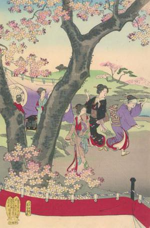 Toyohara Chikanobu: The Ladies of Chiyoda Palace - Robyn Buntin of Honolulu