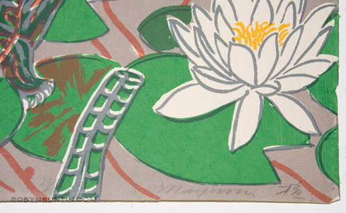 Oda Mayumi: In The Pond Diptych (27/50) - Robyn Buntin of Honolulu