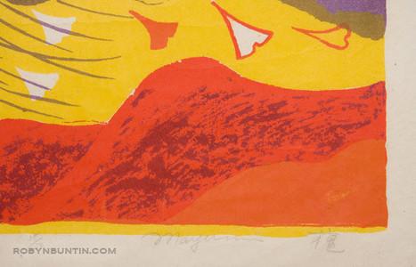 Oda Mayumi: Wind Goddess (Gold) (38/50) - Robyn Buntin of Honolulu