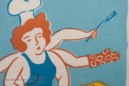 Oda Mayumi: Kitchen Kannon (61/80) - Robyn Buntin of Honolulu