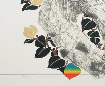 Liao Shiou-ping: Camellia / Rock (ed.66/78) - Robyn Buntin of Honolulu