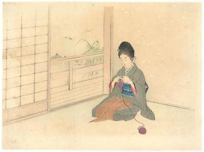 Mizuno Toshikata: Story Illustration - Robyn Buntin of Honolulu