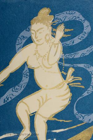 Oda Mayumi: Wave of Bliss (A/P) - Robyn Buntin of Honolulu