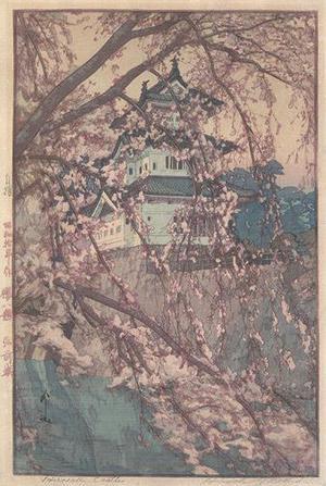 吉田博: Hirosaki Castle - Robyn Buntin of Honolulu