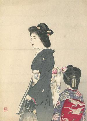 Suzuki Kason: Woman and Young Girl - Robyn Buntin of Honolulu