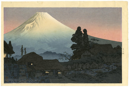 Watanabe Shotei: Mt. Fuji from Mizukubo, Evening - Robyn Buntin of Honolulu