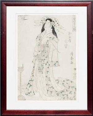 Torii Kiyomine: Courtesan - Robyn Buntin of Honolulu