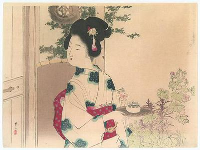 Mizuno Toshikata: Serving Tea - Robyn Buntin of Honolulu