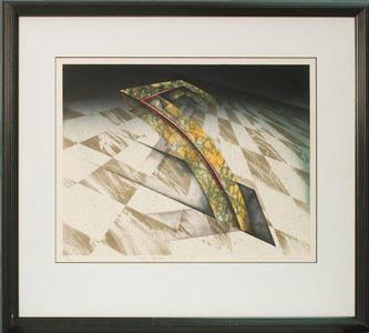 Nishikawa Yoichiro: Slant Square 85-S-5 (B) - Robyn Buntin of Honolulu