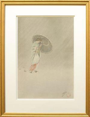 無款: Hatsuya (New Snow) - Robyn Buntin of Honolulu