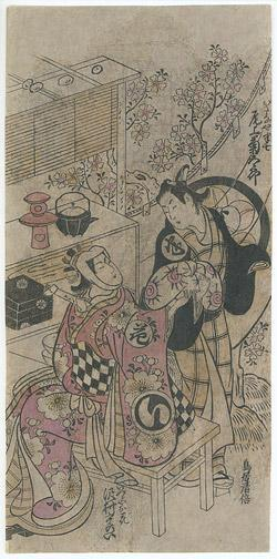 Torii Kiyomasu I: Kabuki Actors - Robyn Buntin of Honolulu