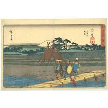 歌川広重: 53 Stations of the Tokaido (Gyosho) - Shimada - Robyn Buntin of Honolulu