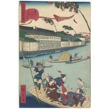 Utagawa Hirokage: Humorous Event at Famous Places of Edo - Robyn Buntin of Honolulu