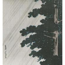 Watanabe Shotei: Evening Shower at Takaido - Robyn Buntin of Honolulu