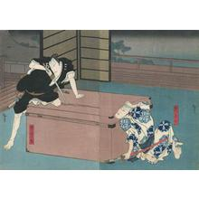 Utagawa Hirosada: Kabuki Scene - Robyn Buntin of Honolulu