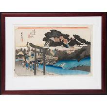 Utagawa Hiroshige: Fujisawa - 53 Stations of the Tokaido - Robyn Buntin of Honolulu