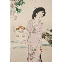 豊原周延: Tanabata at Chiyoda Palace - Robyn Buntin of Honolulu