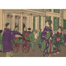 Utagawa Kuniteru: Tokyo Edobashi Ekiteiryo - Robyn Buntin of Honolulu