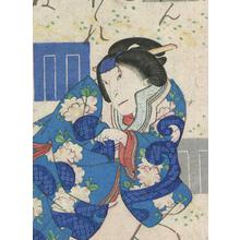 Utagawa Yoshitaki: Genji Oak Tree - Robyn Buntin of Honolulu