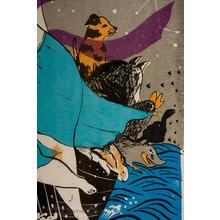 Oda Mayumi: Treasure Ship, Goddess of all Animals (8/50) - Robyn Buntin of Honolulu