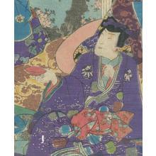 Utagawa Kunisada II: Tale of Genji, Chapter 11 - Robyn Buntin of Honolulu