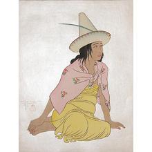Paul Jacoulet: Young Girl of Jaluit, Marshalls 100/150 - Robyn Buntin of Honolulu