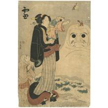 Utagawa Kunisada: Snow - Robyn Buntin of Honolulu