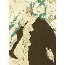 Tsukioka Yoshitoshi: Fujiwara no Sanekata's Obsession Turning to Sparrows - Robyn Buntin of Honolulu