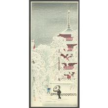渡辺省亭: Asakusa No Yuki - Robyn Buntin of Honolulu
