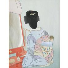 Paul Jacoulet: Le Miroir de Laque Rouge. Tokyo (The Red Lacquer Mirror. Tokyo) 19/150 - Robyn Buntin of Honolulu