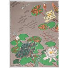 Oda Mayumi: In The Pond Diptych (10/50) - Robyn Buntin of Honolulu